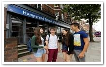 เรียนต่ออังกฤษ คอร์สเรียนภาษา ที่ประเทศอังกฤษ  เมืองลอนดอน Hampstead-School-of-English-London